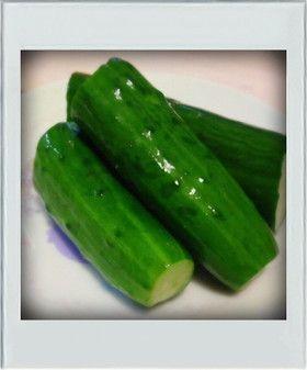 ■簡単副菜■旨辛やみつききゅうり大量消費 りゅうり・中華だしの素・ラー油・塩