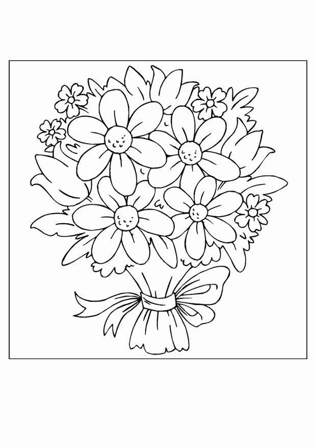 Flower Bouquet Coloring Page Beautiful Free Printable Flower Coloring Pages For Ki In 2020 Flower Coloring Sheets Flower Coloring Pages Printable Flower Coloring Pages