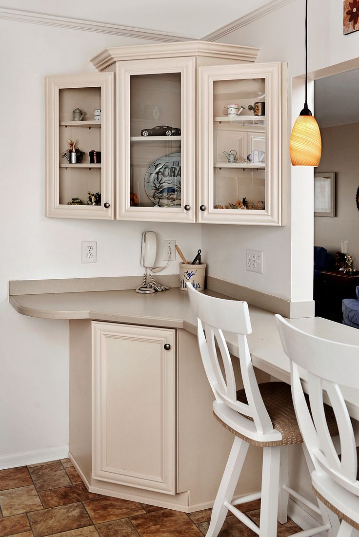 This kitchen in Essex MD was refaced