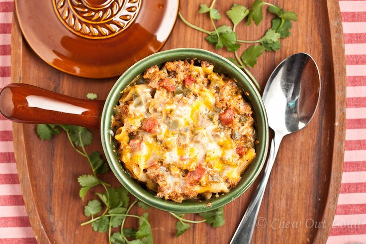 Mexican Pasta Bake - Chew Out Loud