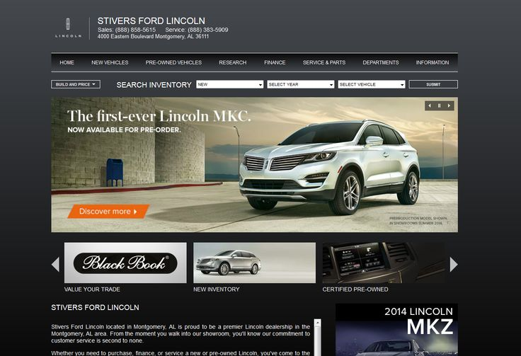 Visit Our Lincoln Website At Http://stiverslincolnofmontgomery.com/