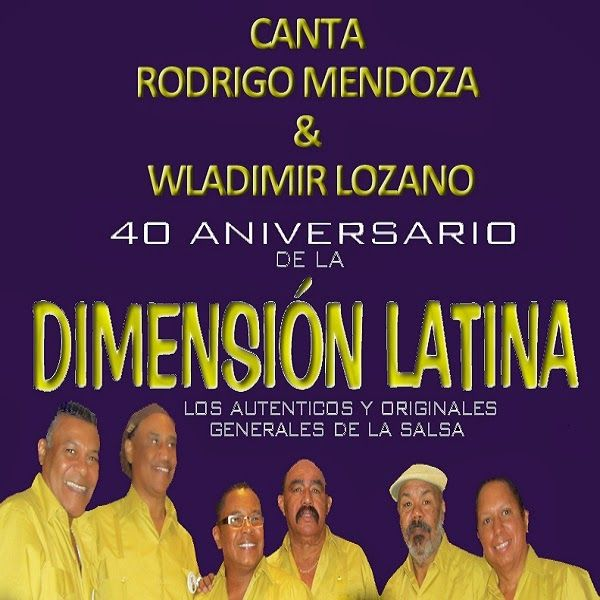 40 aniversario - Dimensión Latina (2014)