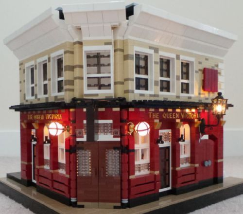The Queen Vic (Eastenders) - Refurbished : A LEGO® creation by R H