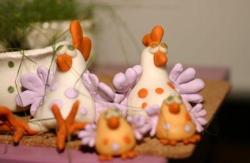 Decorazioni in pasta di sale per la Pasqua: pulcini, conigli e ovetti a gogò…