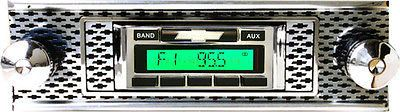 1955 Chevy radio USA-630 AM/FM IPOD XM MP3 Bluetooth