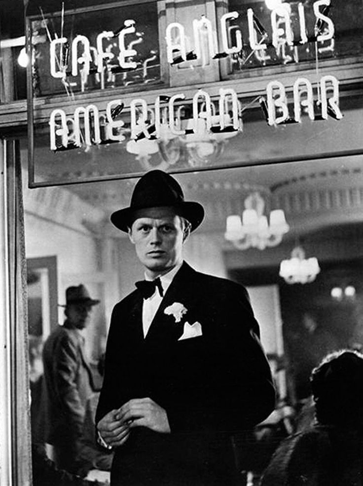 """Richard Widmark in Night and the City (1950) """"Harry is an artist without an art."""""""