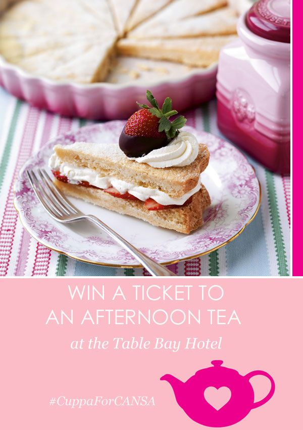Win an afternoon tea at The Table Bay Hotel | http://lanaloustyle.com/2014/10/win-afternoon-tea-table-bay-hotel.html