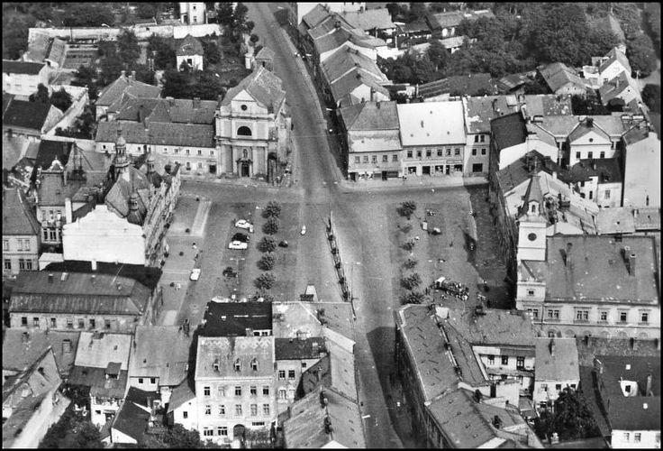 Turnov náměstí 1960