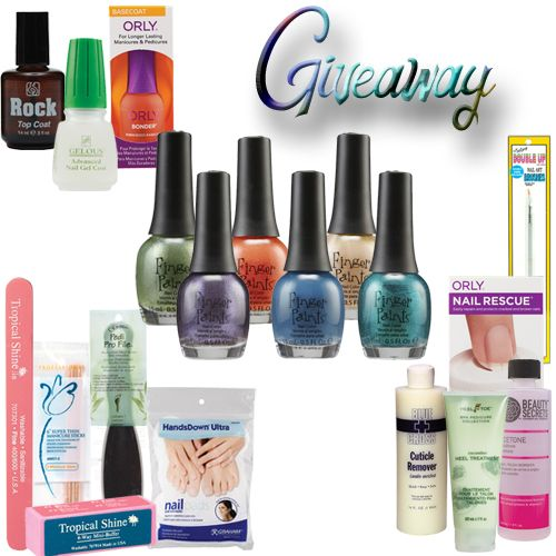 #GIVEAWAY of @Sally Beauty FingerPaints A Pair Affair nail polishes PLUS a bundle of Sally Beauty products.