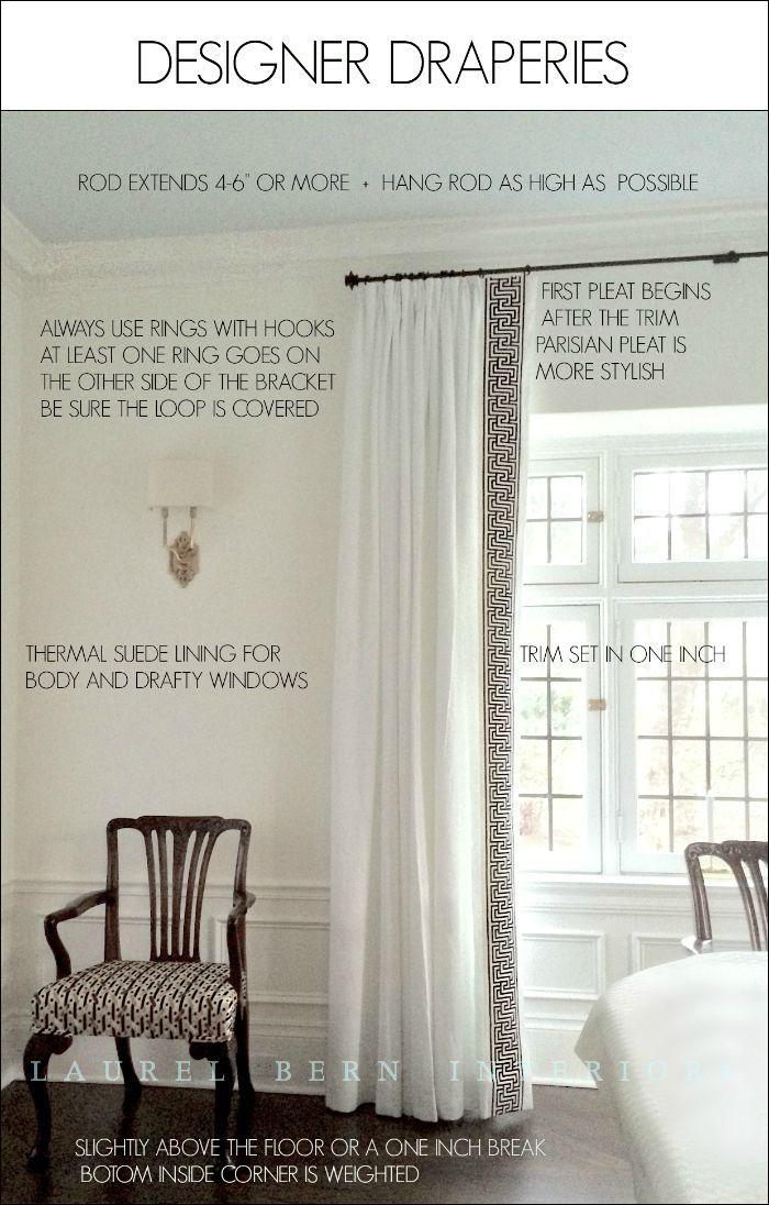 Best 25 Curtain Trim Ideas On Pinterest
