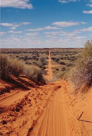 Simpson Desert - Australian outback.