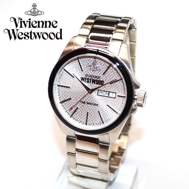 Vivienne Westwood (ヴィヴィアンウエストウッド) 腕時計 VV063SL CAMDEN LOCK シルバー 時計 メンズ ヴィヴィアン タイムマシン 【送料無料(※北海道・沖縄は1,000円)】【楽ギフ_包装選択】【楽天市場】