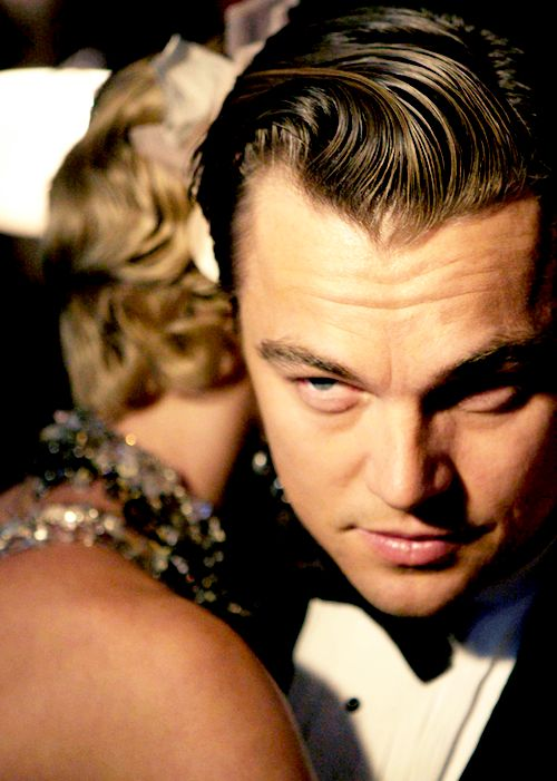 Leonardo DiCaprio in a Promo for 'The Great Gatsby' 2013.