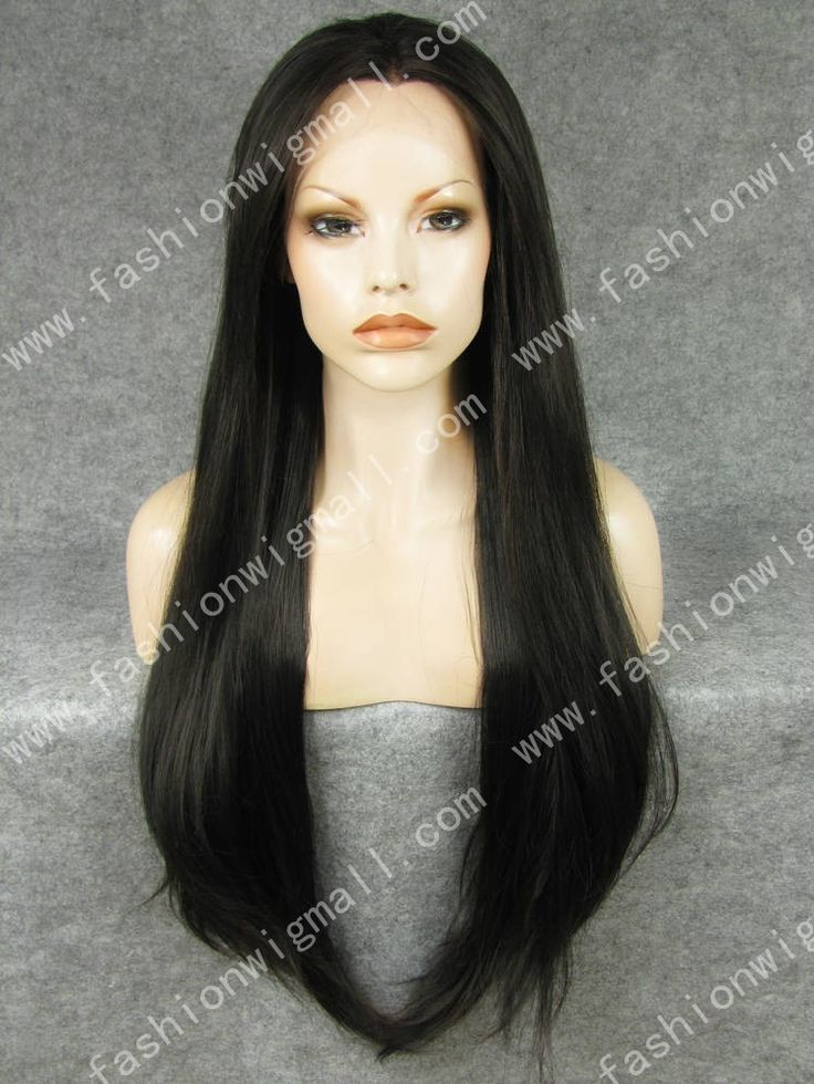 Brown Extra Long Lace Front Wig sale #syntheticwig