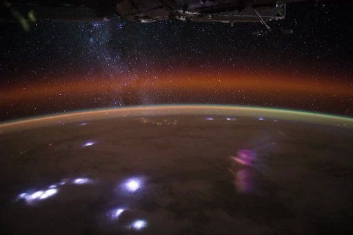 Expedition 30 astronauts on board the International Space Station shot this high-definition sequence on December 29, 2011 during a 19-minute pass starting over central Africa and crossing to the South Indian Ocean. The starry band of the Milky Way is plainly visible, and Comet Lovejoy can be seen very faintly in the center of the frame (about halfway through) while storms flash below. The pass ends as the sun is rising over the dark ocean. Follow Expedition 30 astronaut Don Pettit's blog at…