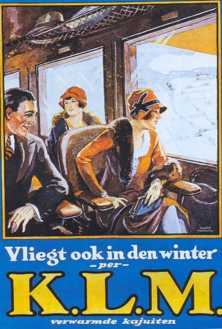 KLM - Also fly in the winter, with heated cabins