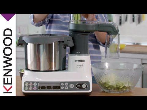 Robot cuiseur kCook Multi de Kenwood – Le Découpe légumes - YouTube
