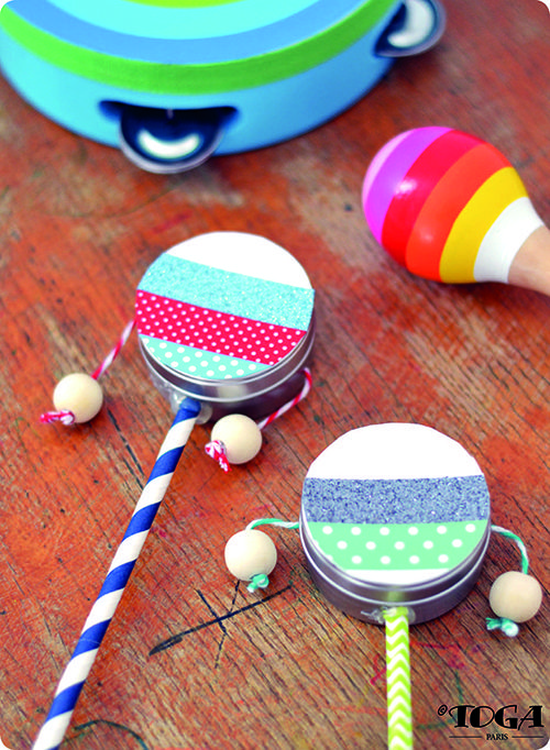 Tuto : Réaliser un mini tambourin, par Toga