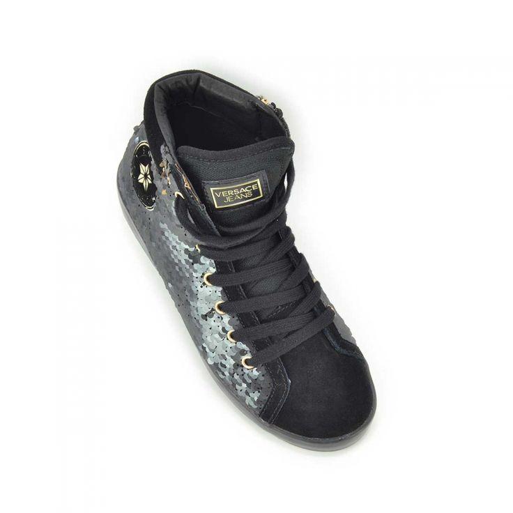 Scarpe donna Versace Jeans - Sneakers Alte Nero