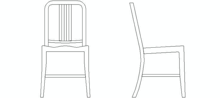 1000 images about bloques autocad de sillas de for Sillas para colorear