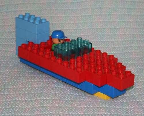 Basic duplo boat