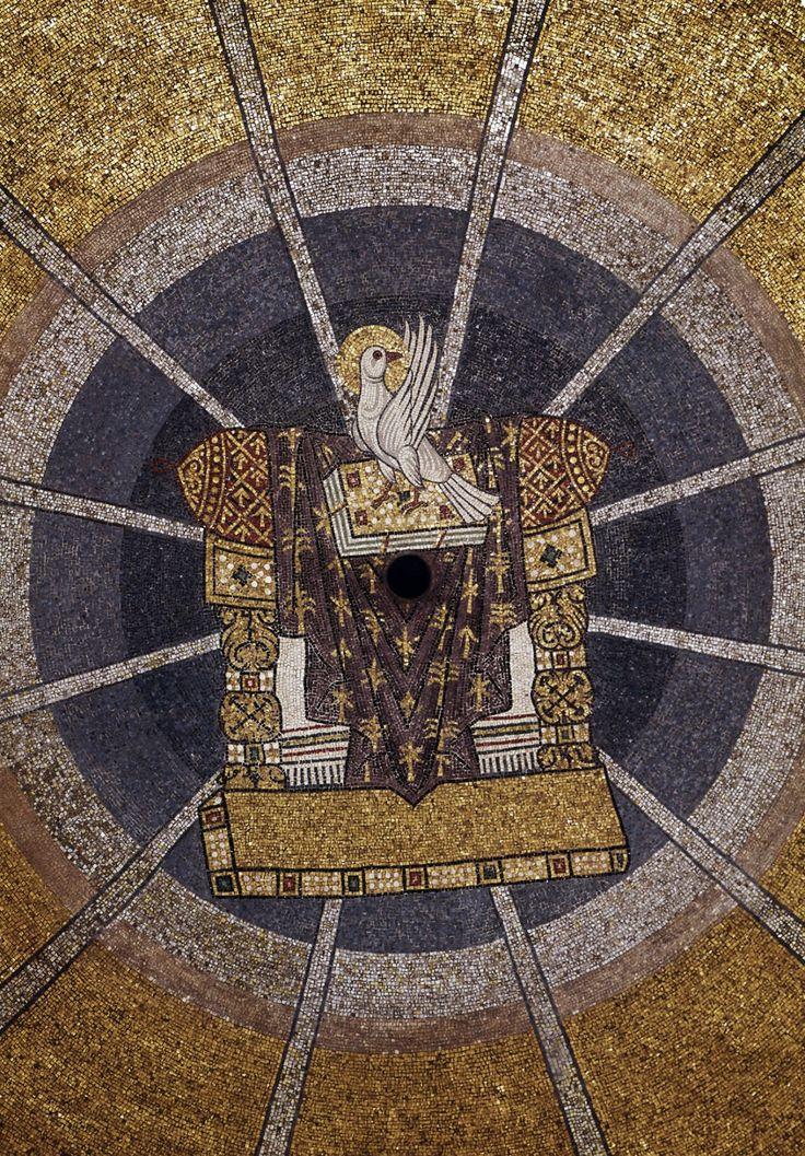 St. Mark's Basilica, Venice (12th century)-Hetoimasia.