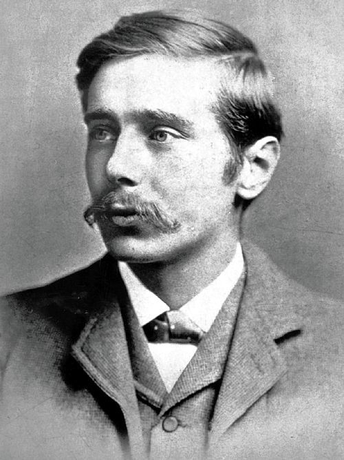 H.G.WELLS (Herbert George Wells, 1866-1946) English writer. Should have been made a fellow at the Royal Society imho.