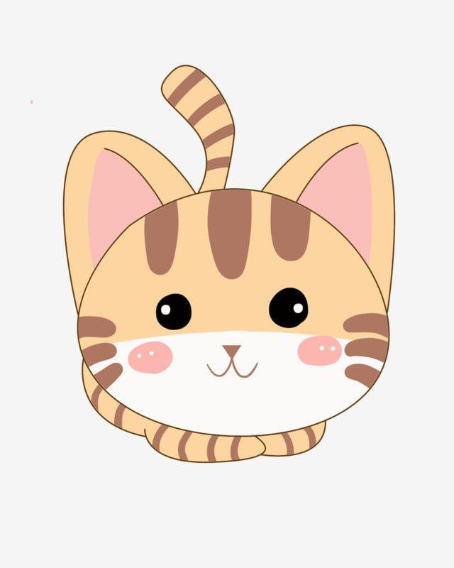 قطة صفراء قطة جميلة قطة لطيف قطة مرسومة باليد قطة القط الكرتون تنبت من القط Png وملف Psd للتحميل مجانا Hand Painted Cat Yellow Cat Beautiful Cats