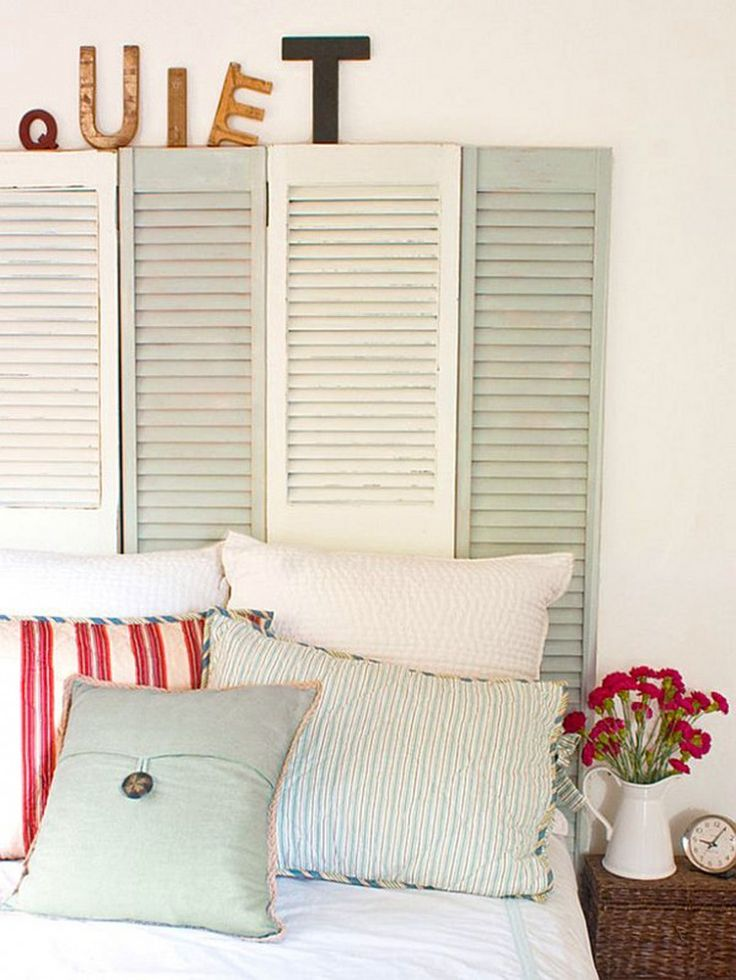 22 best images about beach decor headboards on pinterest for Do it yourself headboard