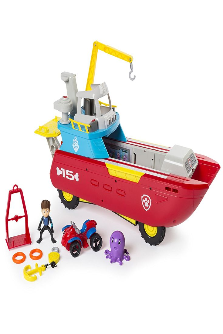 Quatang Gallery- Nickelodeon Paw Patrol Sea Patrol Sea Patroller Transforming Vehicle With Lights And Sounds Best Fun Baby 2018 Paw Patrol Toys Best Christmas Toys Paw Patrol Nickelodeon