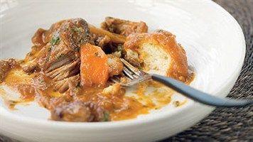 Mum's Lamb Stew With Dumplings Recipe - LifeStyle FOOD - bit boring and bland