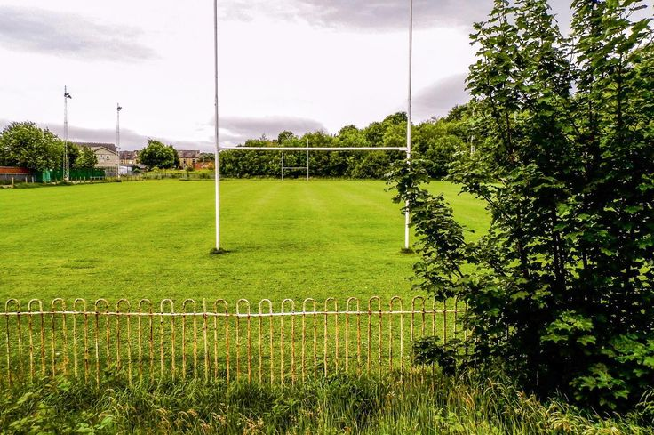 Taken stood behind the posts of the terrace alongside the north side of Fartown. Traditionally ruby league supporters would stand behind the posts when supporting there team during the game. Sadly the ground no longer hosts the Huddersfield Giants RLFC and is a shadow of its former self. Picture Copyright © 2017 Colin Green All Rights Reserved