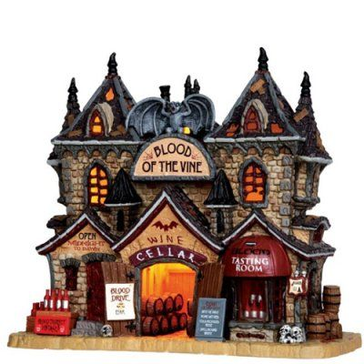 Lemax Collectibles | Spooky Town Collectibles | Lemax Spooky Town Blood Of The Vine #35500 - American Sale