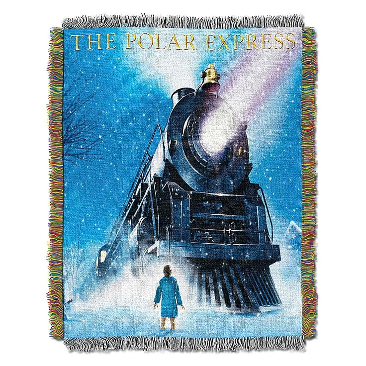 Polar Express Engine Wonder Tapestry Throw Tapestry