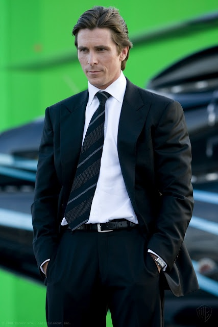 Christian Bale = Christian?: This Man, Batman Movie, The Dark Knights, But, Christian Grey, Christian Bale,  Suits Of Clothing, 50 Shades, Photo