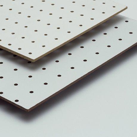 Geperforeerd hardboard