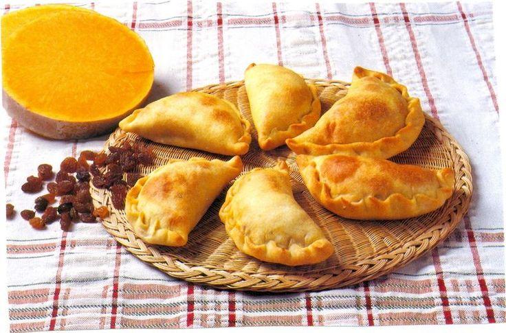 Monday's Greek Recipe - Kolokotes - Cyprus Pumpkin Pies - Anastasia