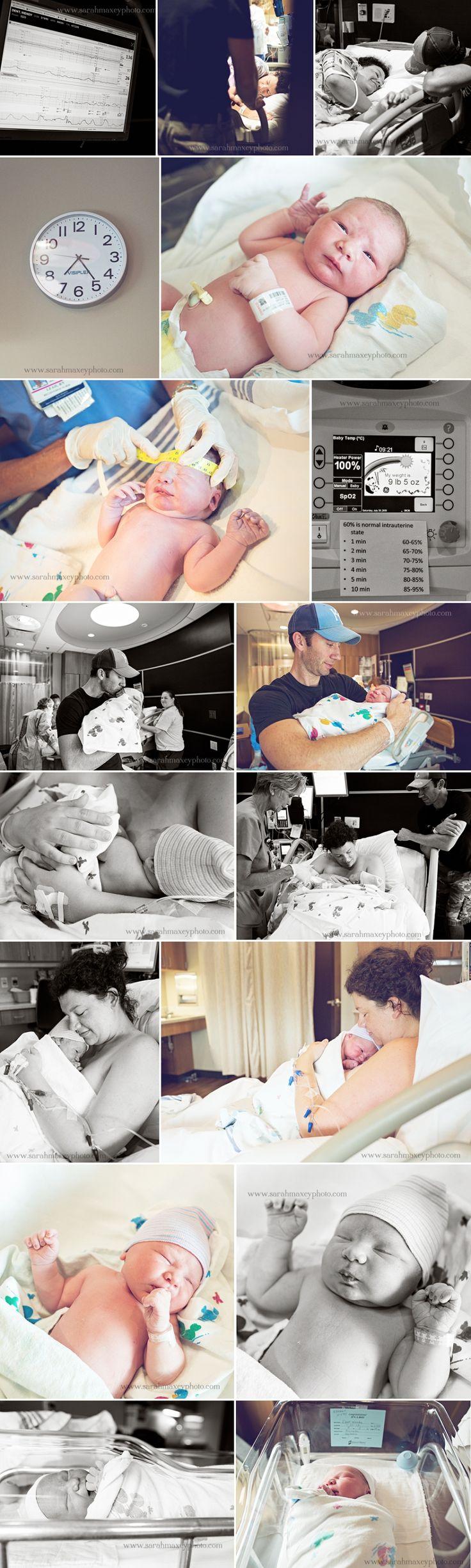Hospital birth photography  Sarah Maxey Kansas City Birth Photographer and Portrait Photographer