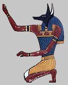 *ANUBIS *  Signe Anubis  Périodes :  du 9 au 27 mai  et du 29 juin au13 juillet  Dieu à tête de chien sauvage