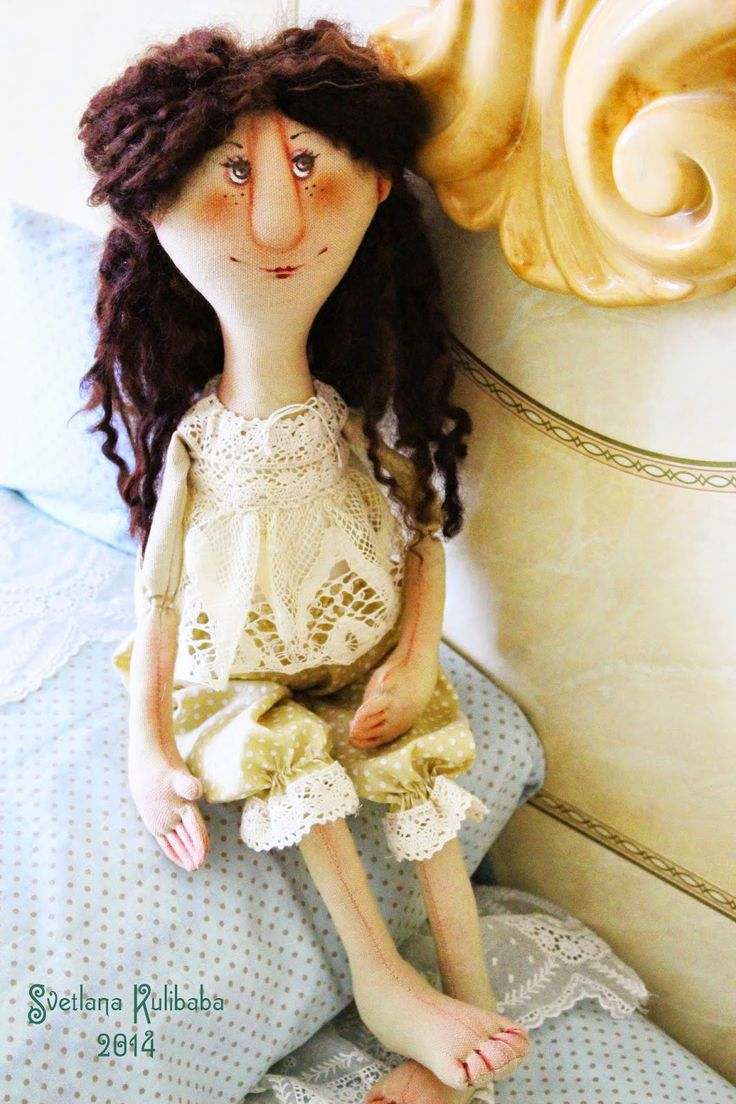 Жили - были куклы веселушки
