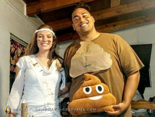 650 best couples halloween costumes images on pinterest couple poo and toilet paper couple costume solutioingenieria Image collections