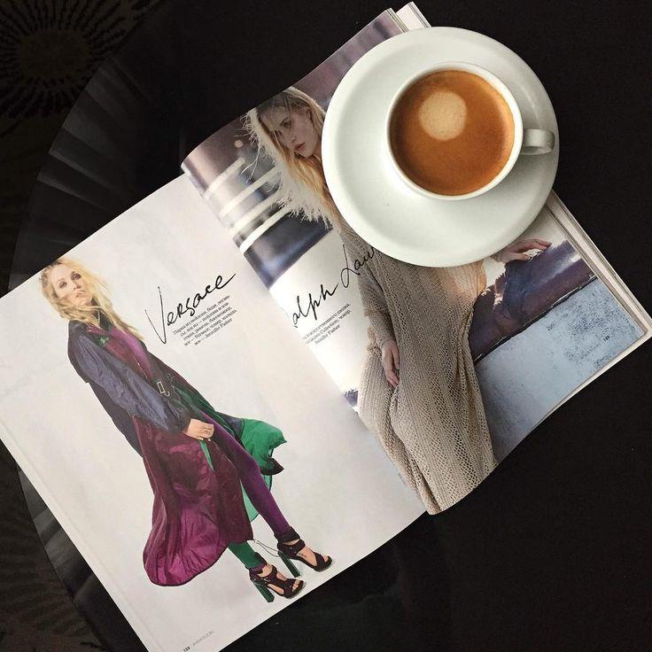 espresso, barista, fashion, elle magazine