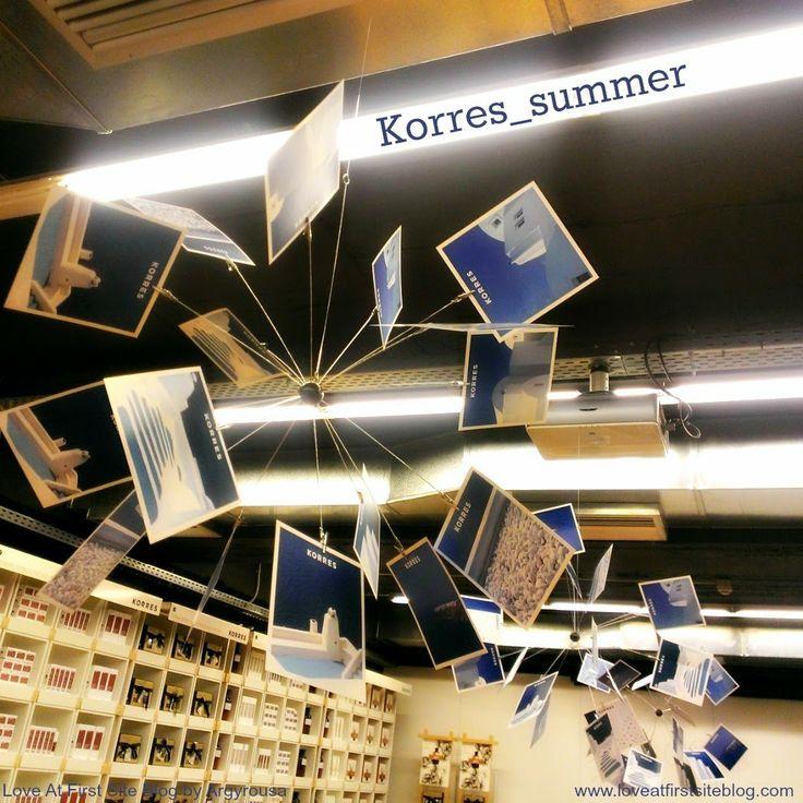 Love At First Site: Korres Summer / Santorini Vine Showergel and Body Milk #korres_summer #santorini #korres