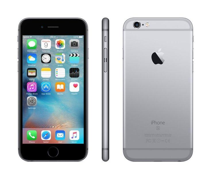 Apple iPhone 6s 64GB SIM-Free Smartphone - Space Grau (Zertifiziert und Generalüberholt) von Apple EUR 459,00