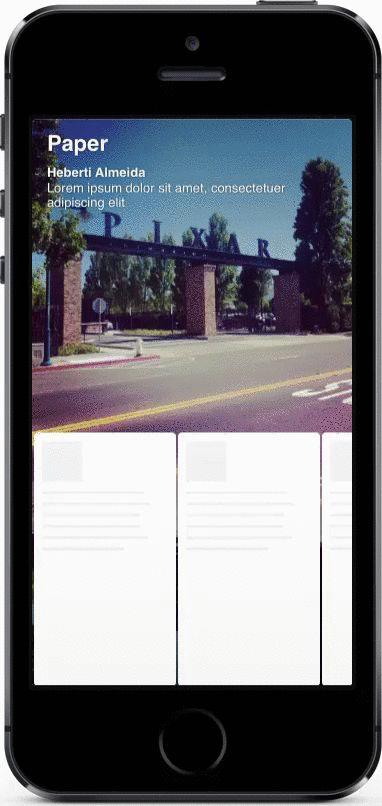 HAPaperViewController - Facebook Paper iOS code