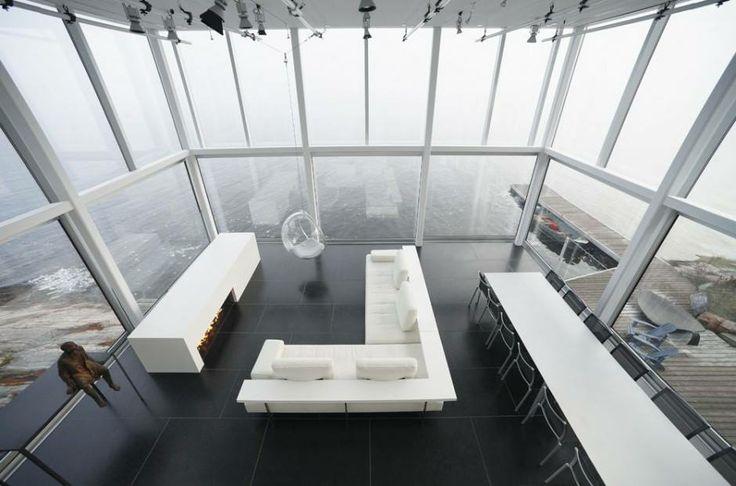 Celý interiér se nese v duchu čistoty a minimalismu.  Foto: gh3 designs