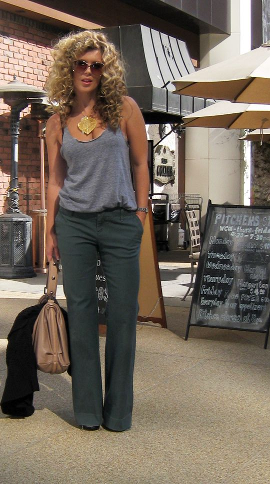 hair, shirt, pants... must try: The Gap, Pants Fit, Flare Jeans, Awesome Hair, Style, Statement Necklace, Outfits Posts, Clothing Hair Etc, Casual Outfits