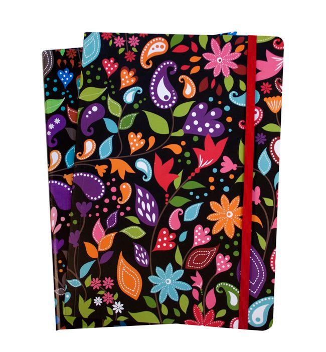 Pattern, notebook. www.kajsanilsson.com