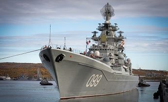 Heavy nuclear-powered missile cruiser Petr Velikiy will conquer new areas of navigation in the Arctic - Infrastructure: Arctic-Info