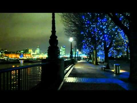 Night time lapse photography around London